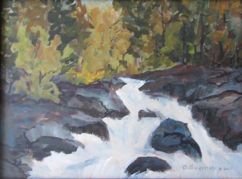 Highland Waterfall - Oksana Baczynsky