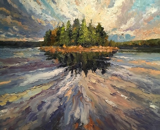 Algonquin Reflection - Peter Cheung