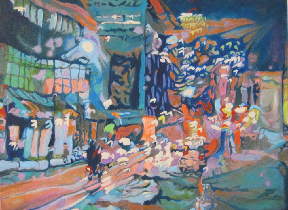 Night Vision #9 - Claudette Losier