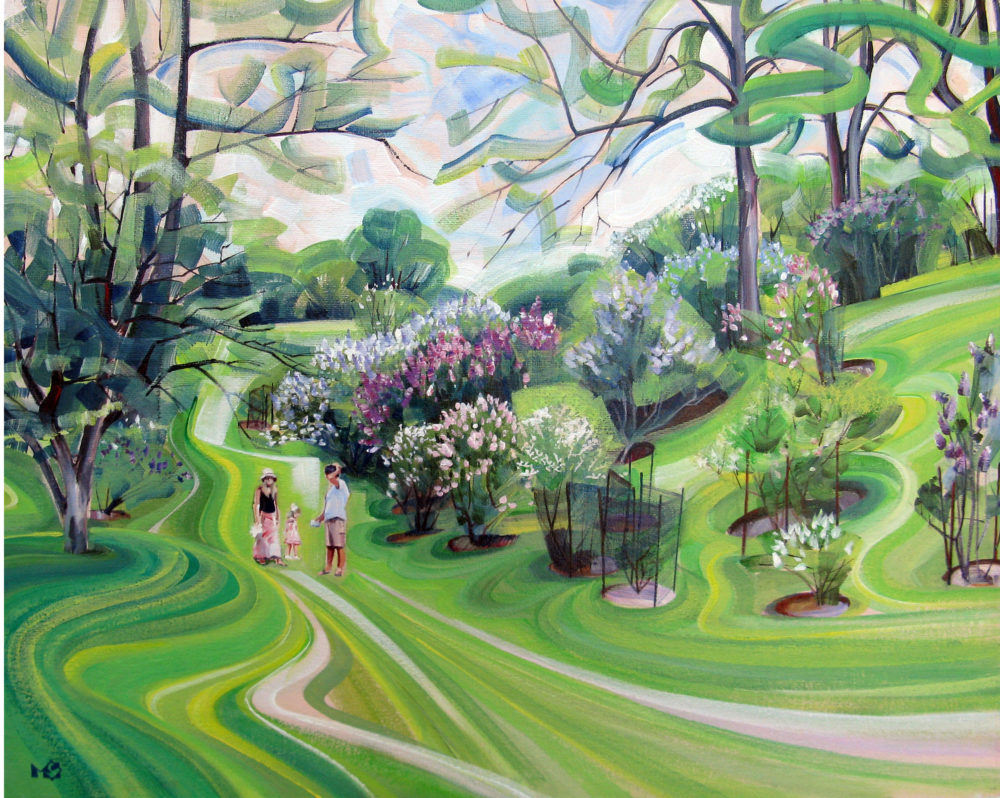 Among Lilacs - Maria Sarkany