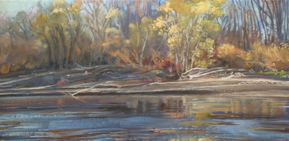 Assiniboine Riverbank - Aleta Karstad