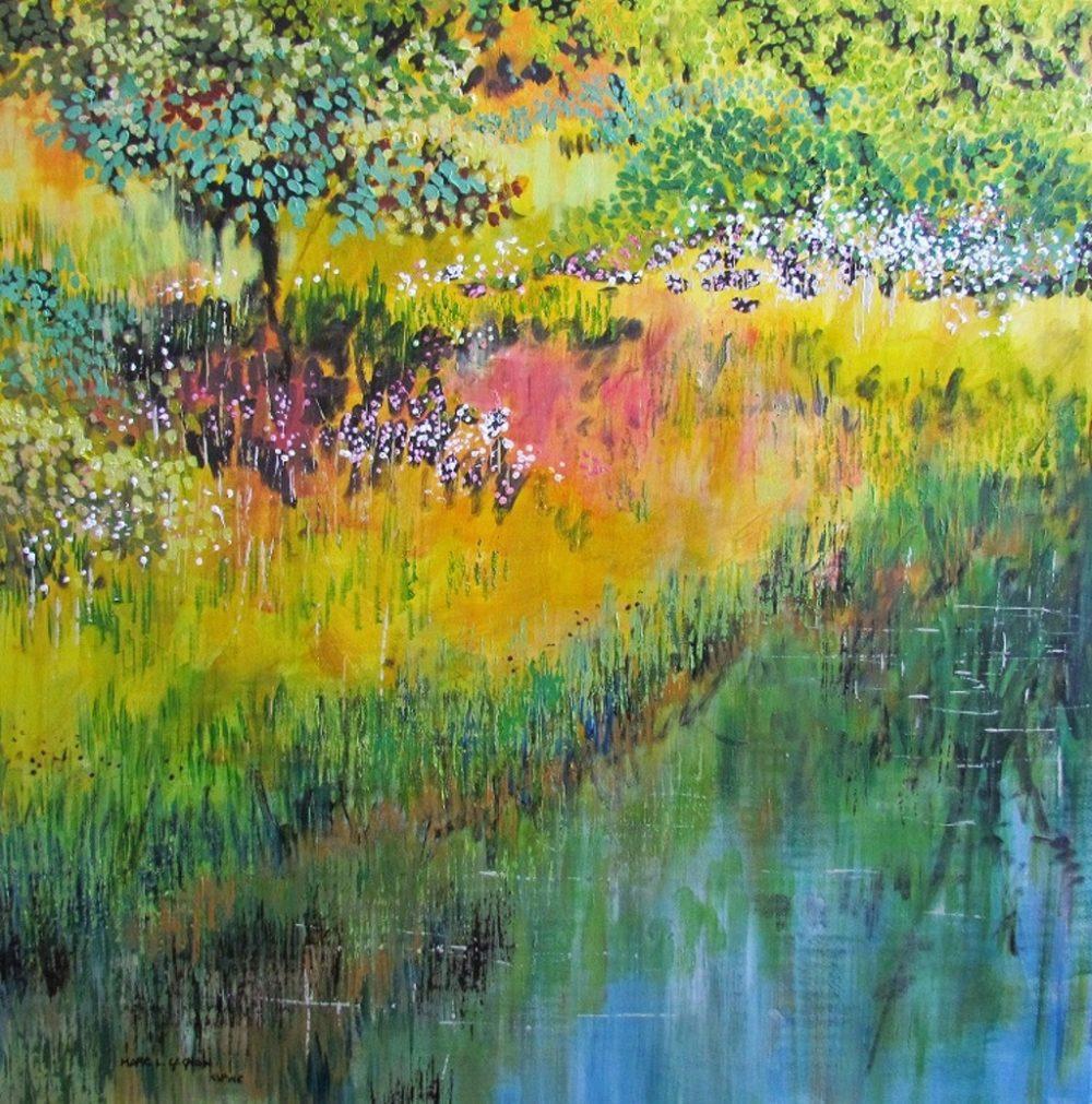 Summer Along Wilmot Creek - Marc L. Gagnon