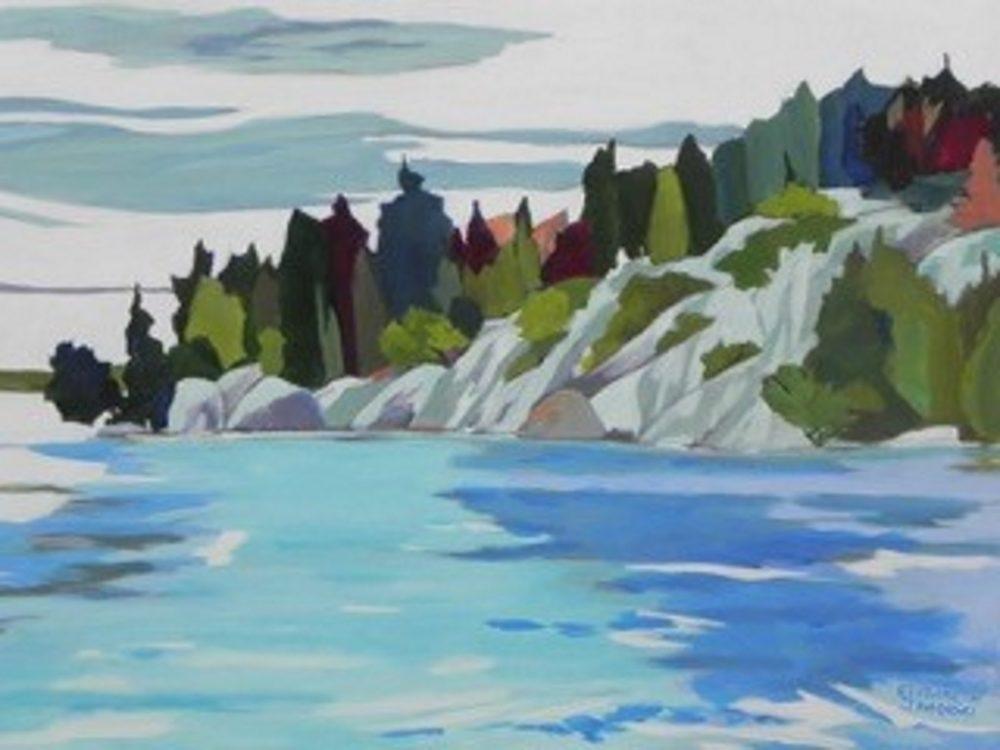 Across The Bay - Elizabeth Jaworski