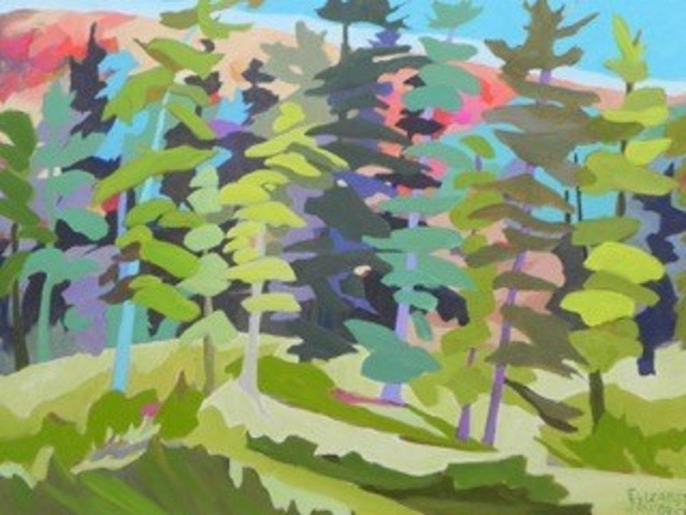 Moving With The Wind - Elizabeth Jaworski