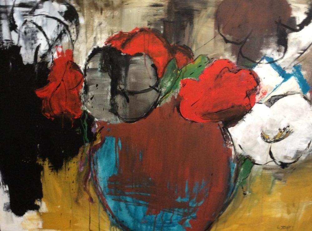 Bowl of Flowers - Lynda Jones