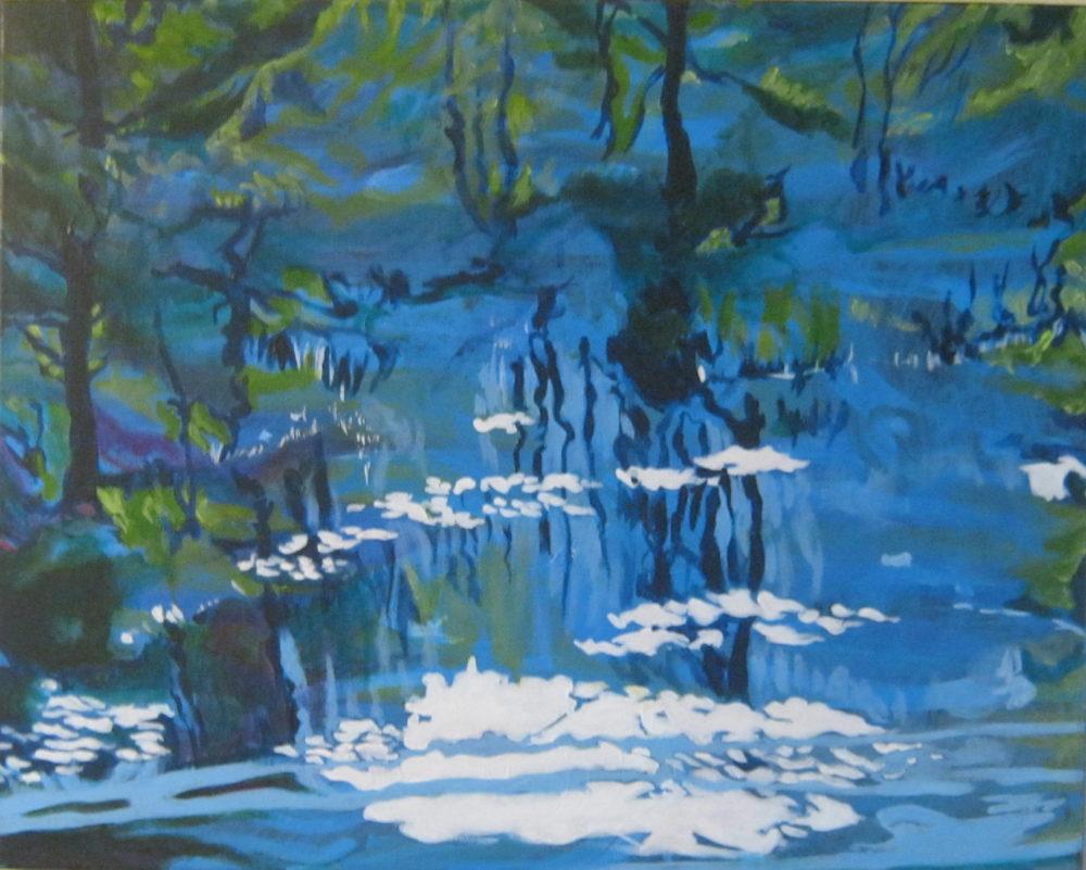Blue Reflections - Claudette Losier