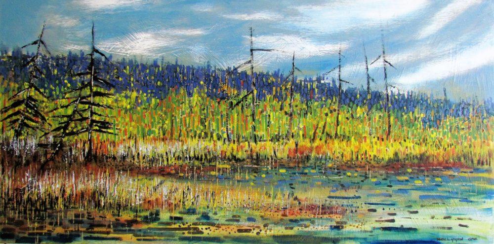 A Stillness in the Marsh - Marc L. Gagnon