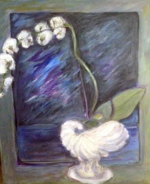 White Orchid - Lois Crawford