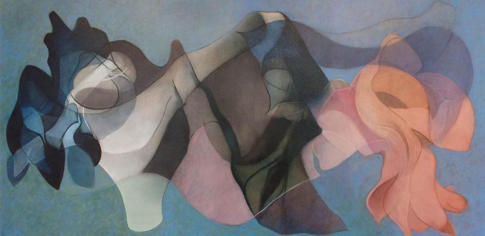 Painting #1, February 2018 - Peter Kirkland