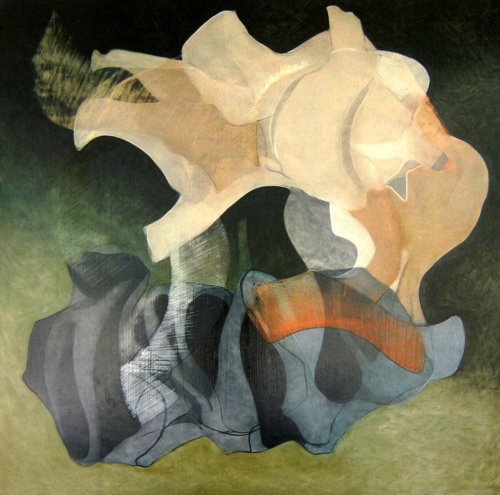 Painting #3, June 2017 - Peter Kirkland