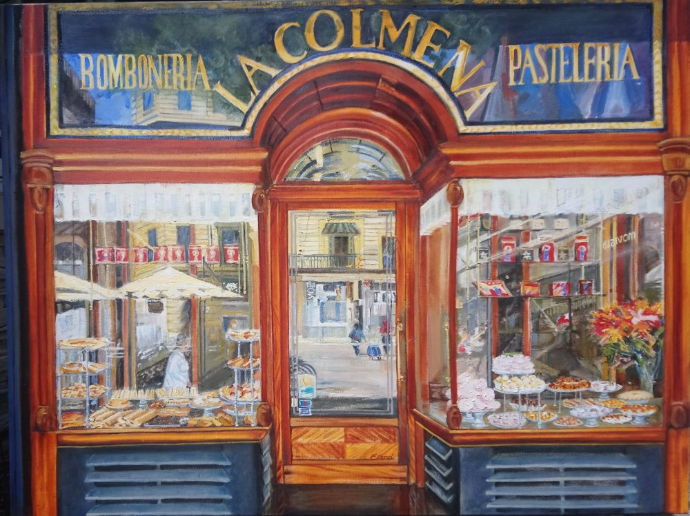 Pastry on the Placa - Joyce Elhard