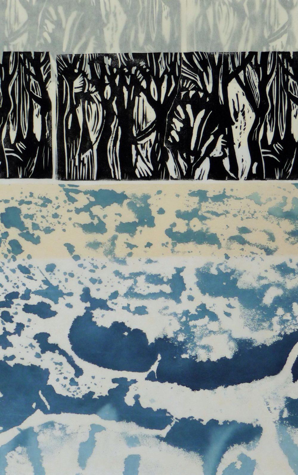 Forest and Ice - Dominique Prevost