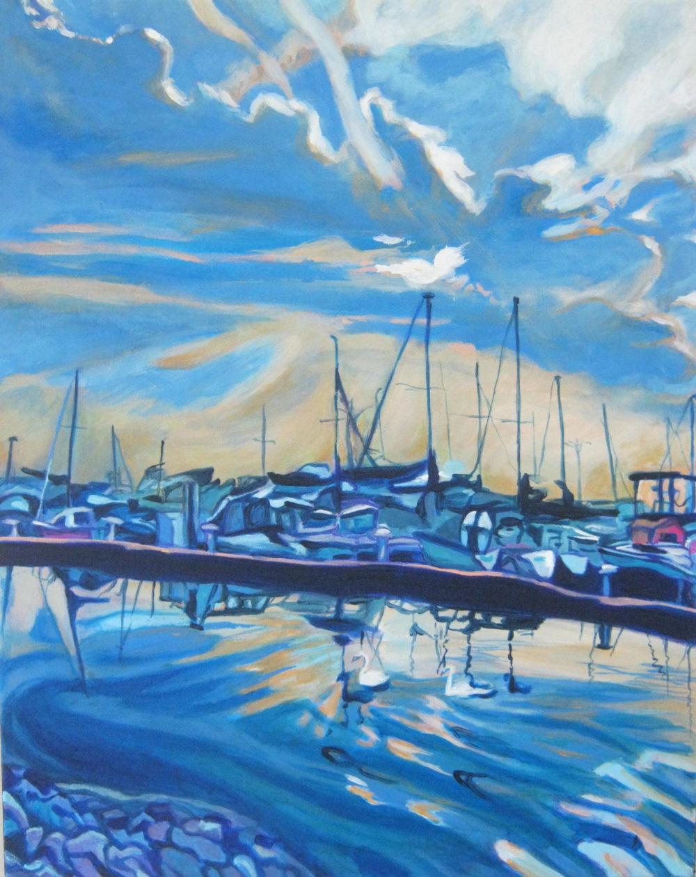 Sundari Harbour - Claudette Losier