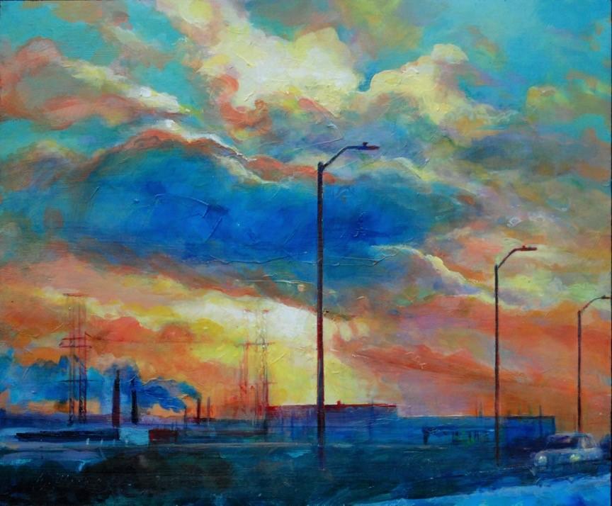 Sunset on the N.T.B - Wayne Moore
