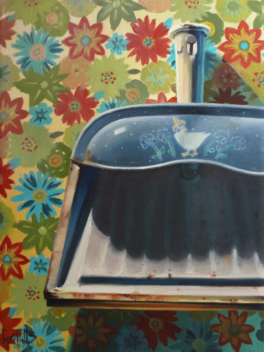 The Old Dust Pan - Helen Griffiths
