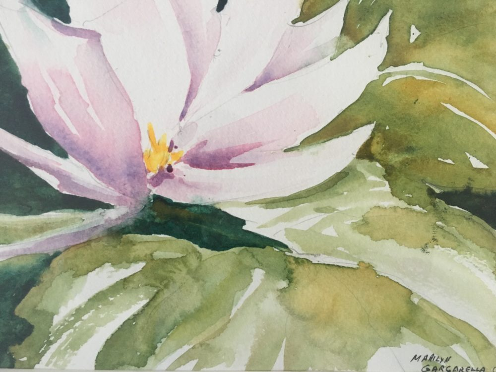 Water Lily on the Styx - Marilyn Gargarella