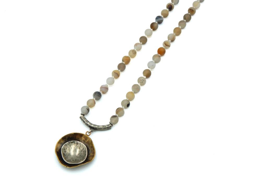 Agate Necklace - aryn Chopik