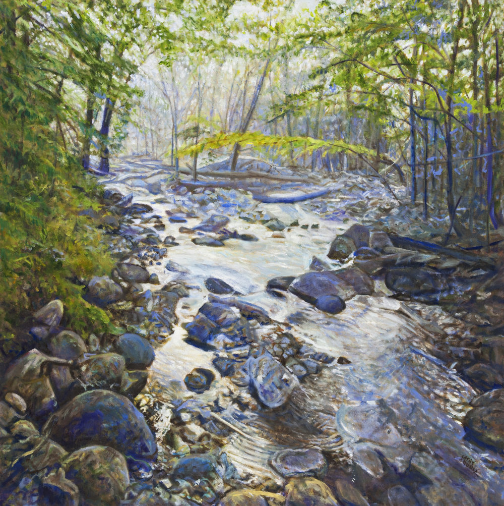 Babbling Brook - Cathy Groulx