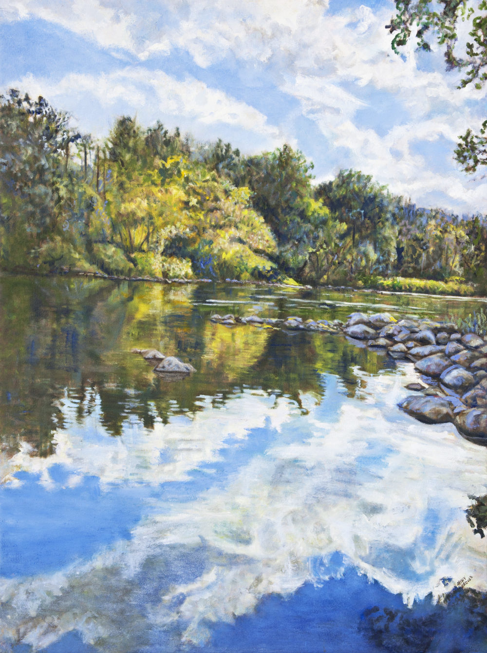 Clouds Reflected - Cathy Groulx