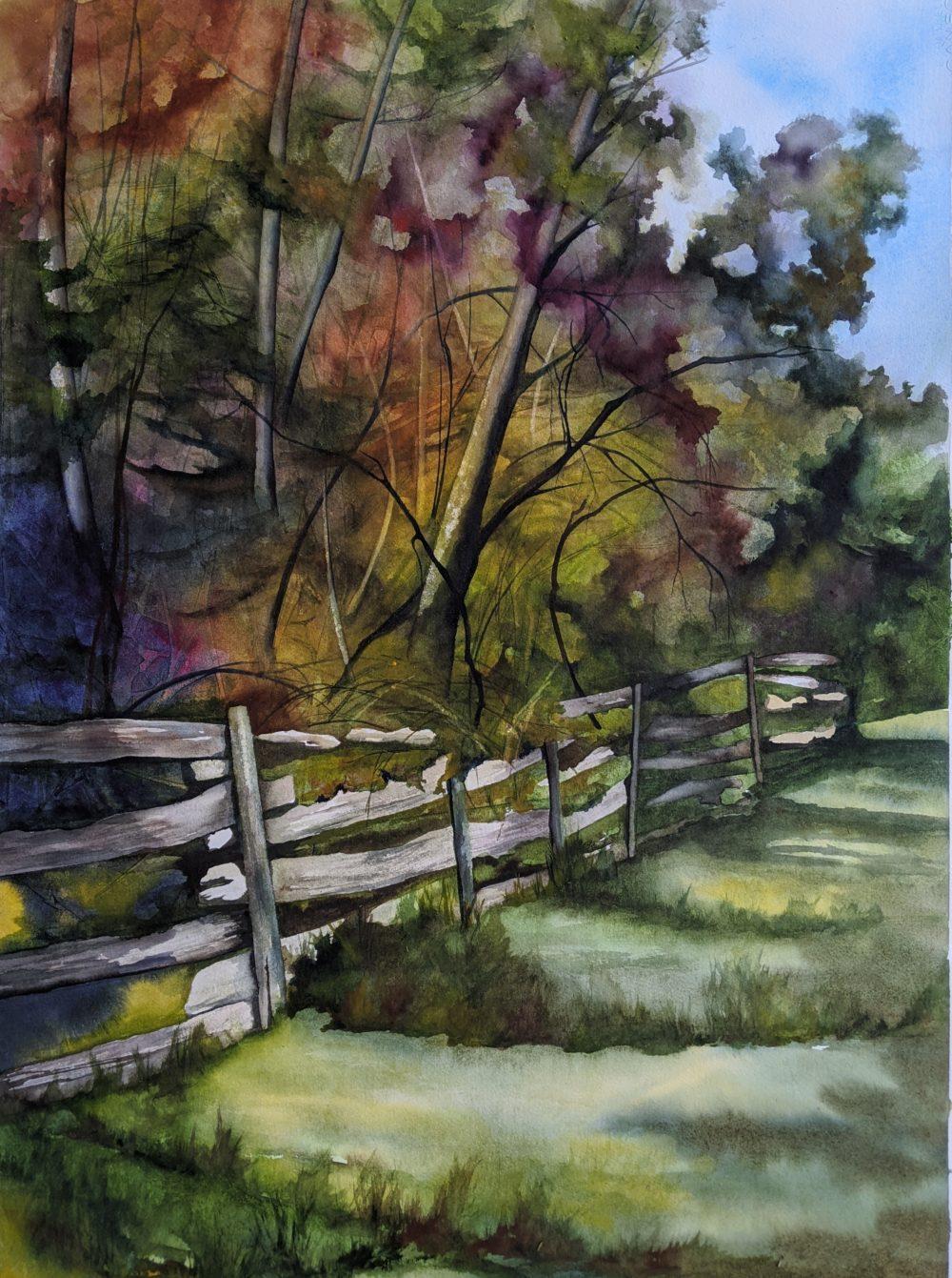 Fence Highlights - Sue Goosens
