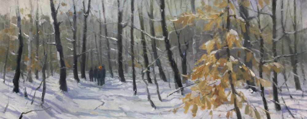 Winter Walk - Jeanette Obbink