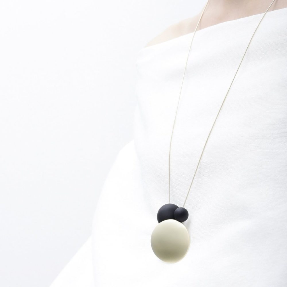 dots and orb necklace
